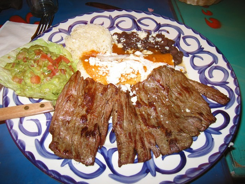 For the meat lovers…Carne Asada (Grilled Steak)