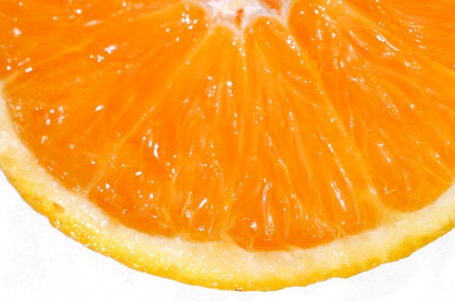 Orange Citrus Fruit in...