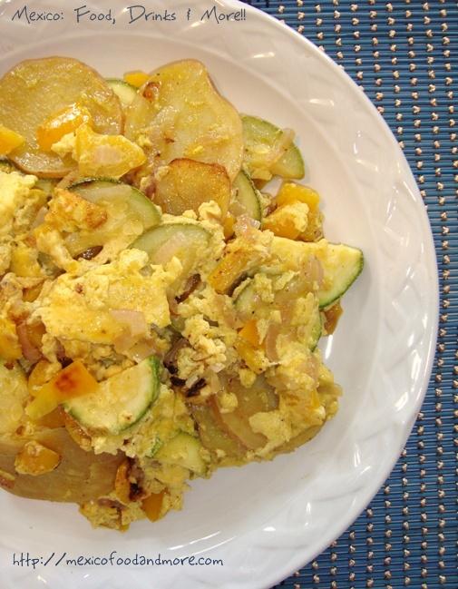 Potatto & Zucchini Frittata