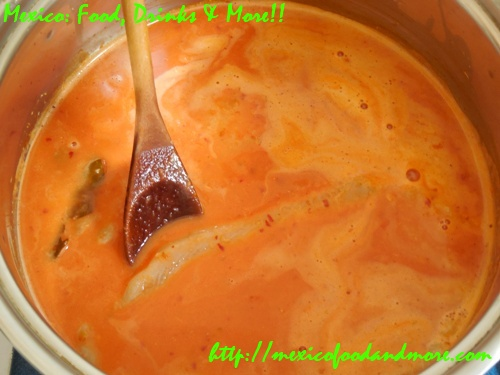 Fish in Coconut-Guajillo Sauce 16