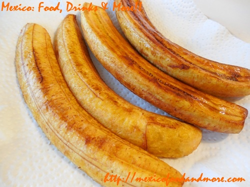 Mexican Fried Plantains 6